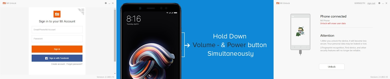 How to Unlock the Bootloader of your Mi Phones - Flashing