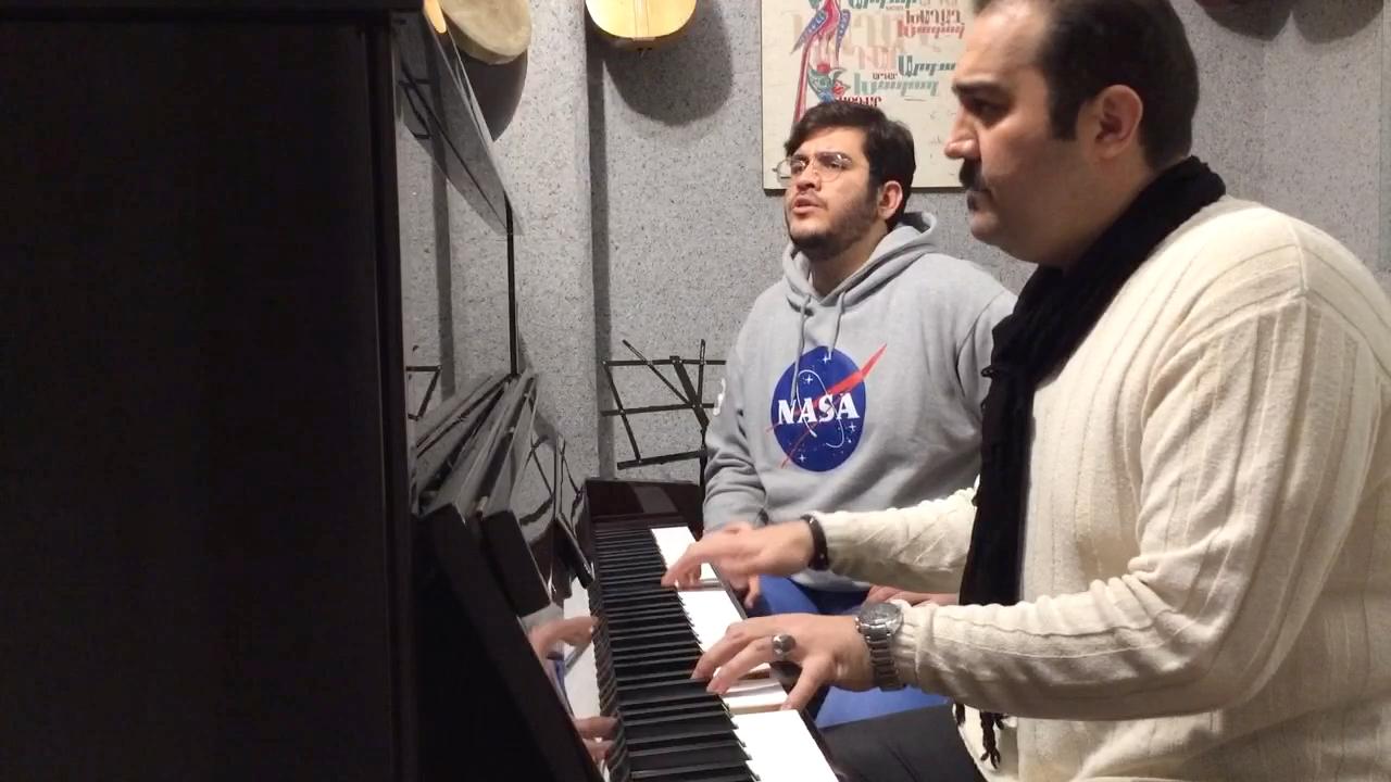 منتظرت بودم با صدای امیر علیزاده پیانو احسان نیک