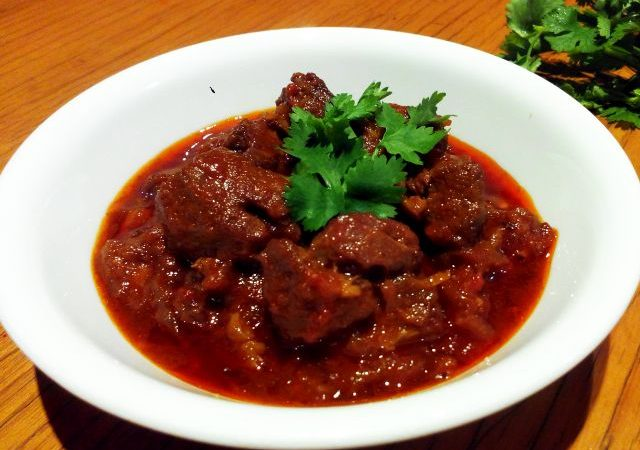 Red Lamb Curry Stew
