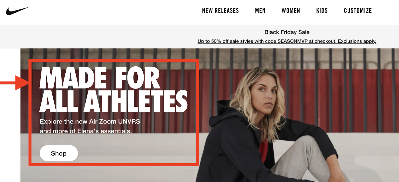 made for athletes target audience