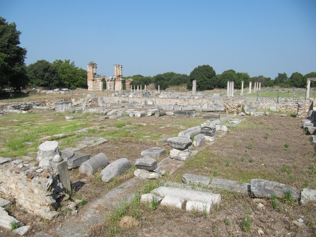Archaeological Site of Philippi, Greece