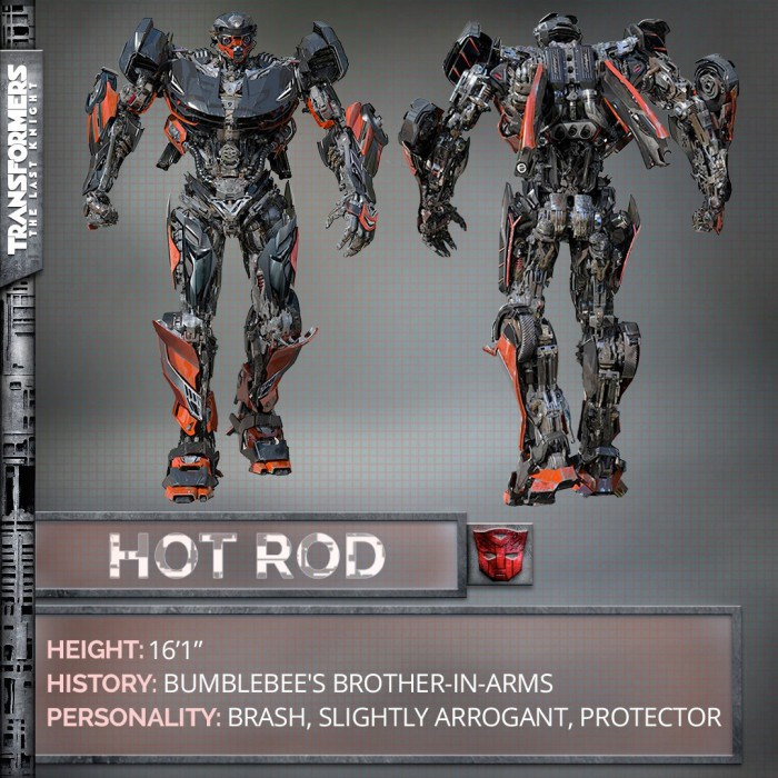 Transformers: The Last Knight - Hot Rod