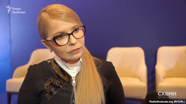 Від прямої відповіді про долю Авакова в разі своєї перемоги Тимошенко ухилилася.