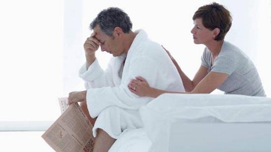 Có khoảng 40% đàn ông ở độ tuổi 40-60 bị mãn dục nam