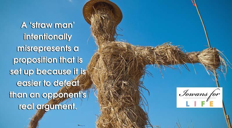Resultado de imagen de straw man argument