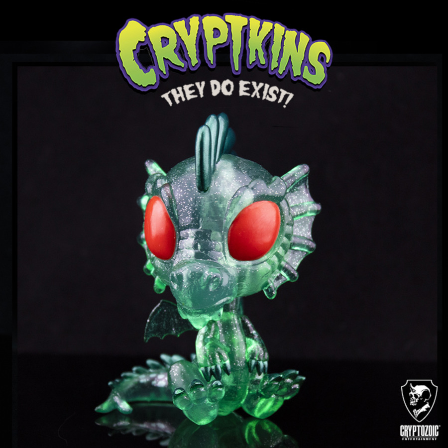 Emerald Dragon Cryptkins Vinyl Figure (Cryptozoic Exclusive)