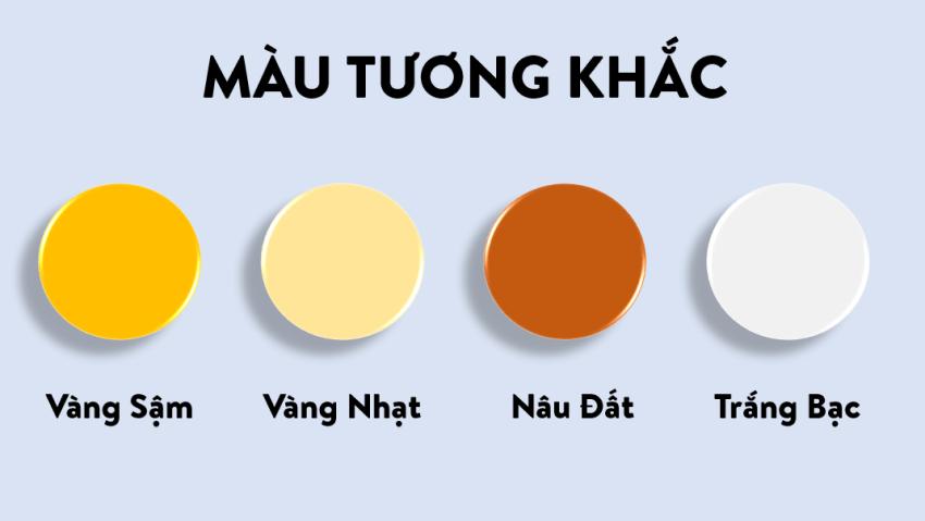 Màu sắc tương khắc với mệnh Mộc