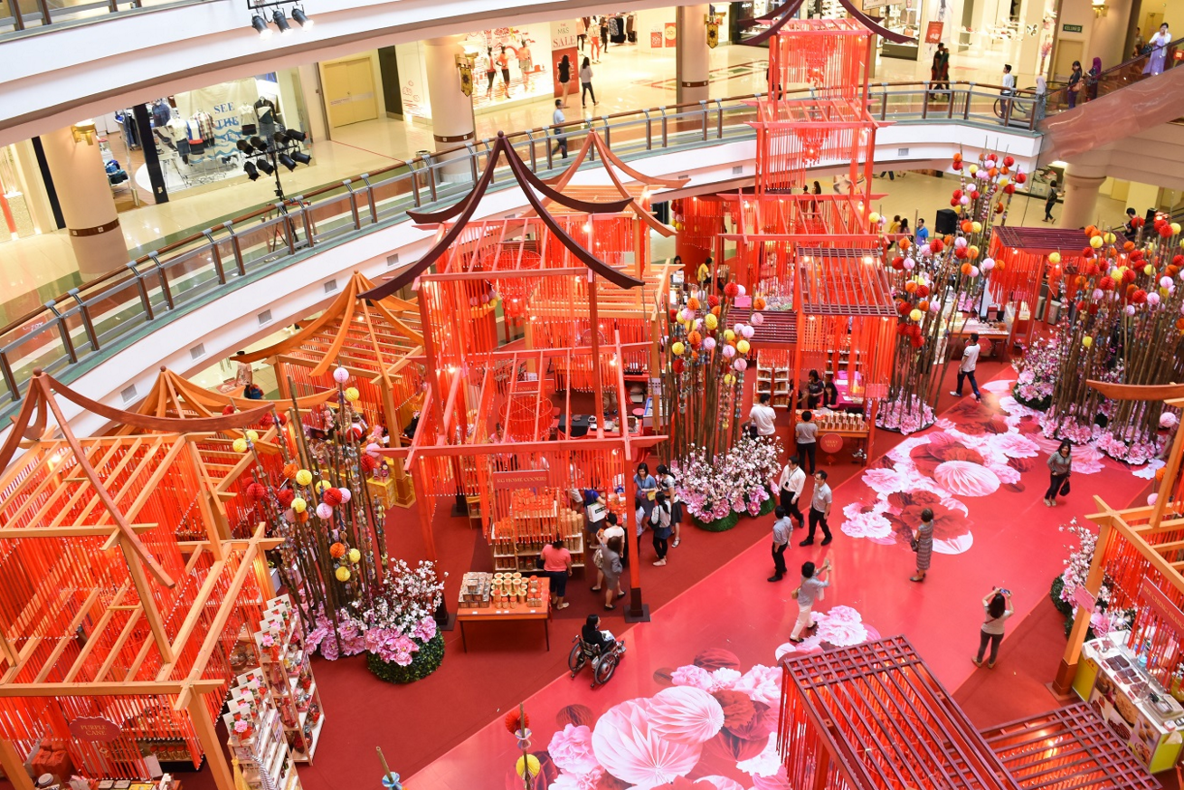 The 10 Most Attractive Shopping Mall Decorations For CNY 2016