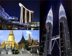 Wisata Tiga Negara Asia