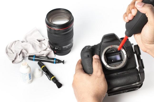 8 วิธีทำความสะอาดกล้องถ่ายรูปเบื้องต้น8