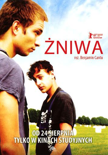 Przód ulotki filmu 'Żniwa'