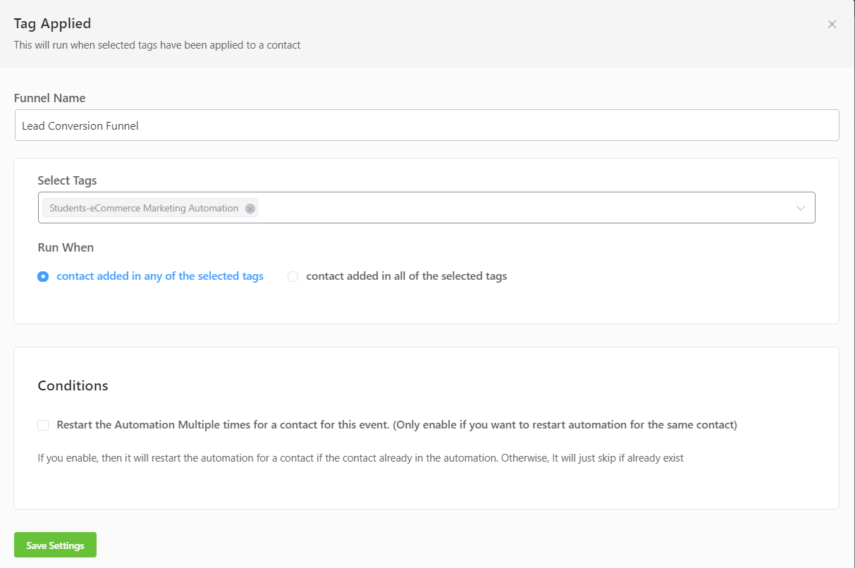 learndash sales conversion funnel, learndash email marketing funnel