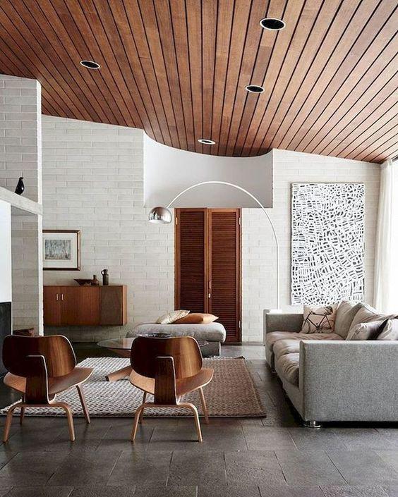 Estilos de decoración de interiores: estilo mid-century modern