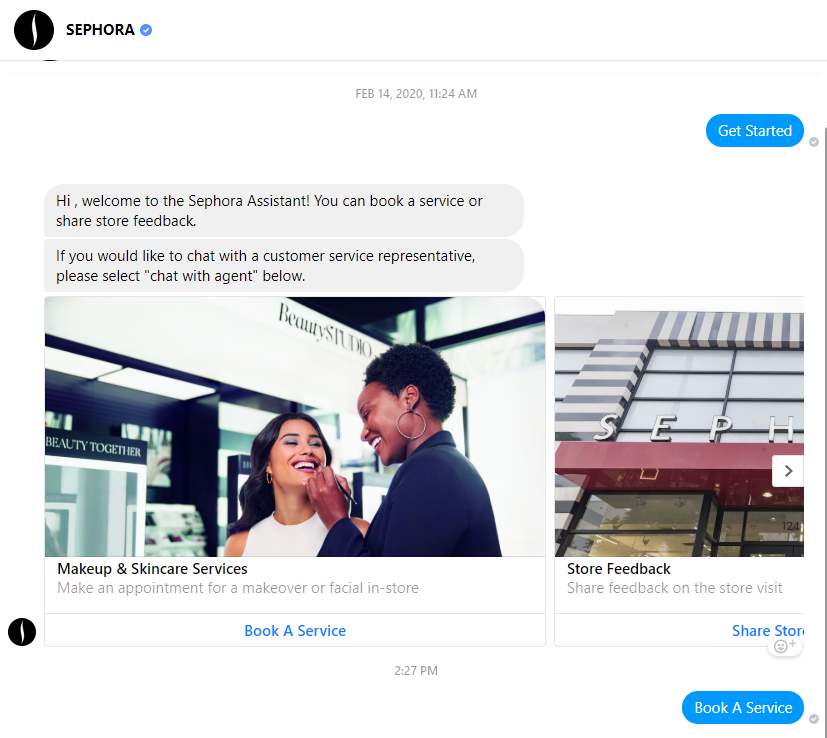 sephora social media