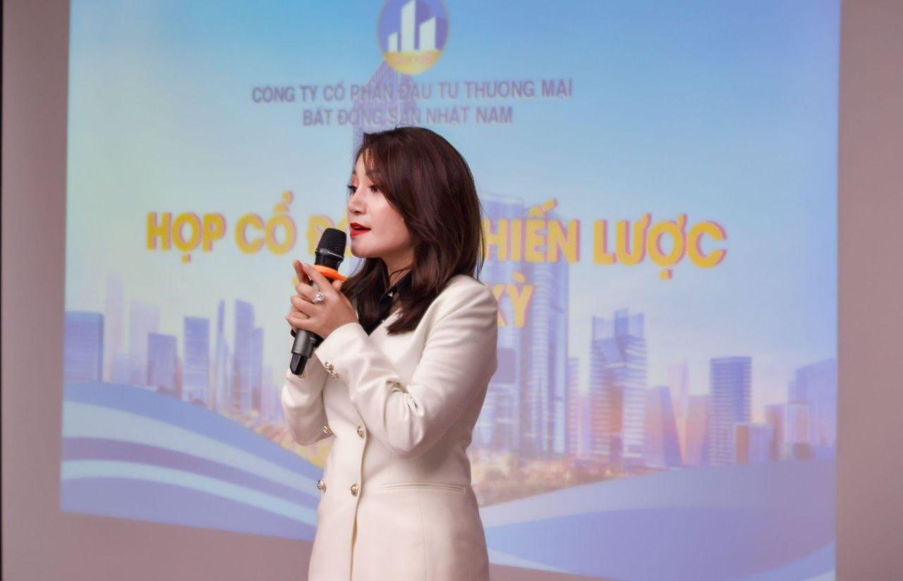 Lời phát biểu của Chủ tịch Vũ Thị Thuý