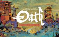 Cover of board game Oath one my most anticipated games of 2020