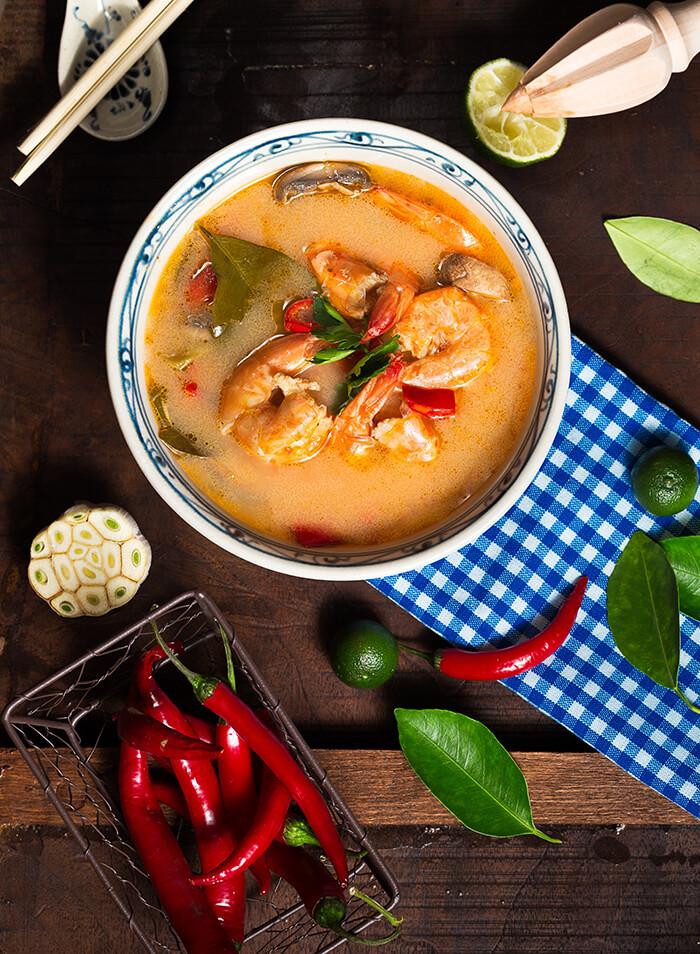 試著做一頓南洋風味的咖哩叻沙吧,但別忘了放蝦喔!