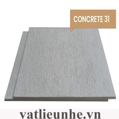 Thanh gỗ xi măng ốp tườngConcrete 31 (1 múi)