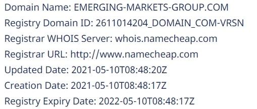 Форекс брокер Emerging Markets Group отзывы о работе и обзор маркетинга