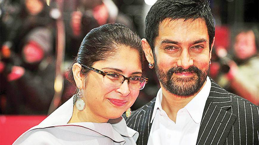 7. Aamir Khan and Kiran Rao