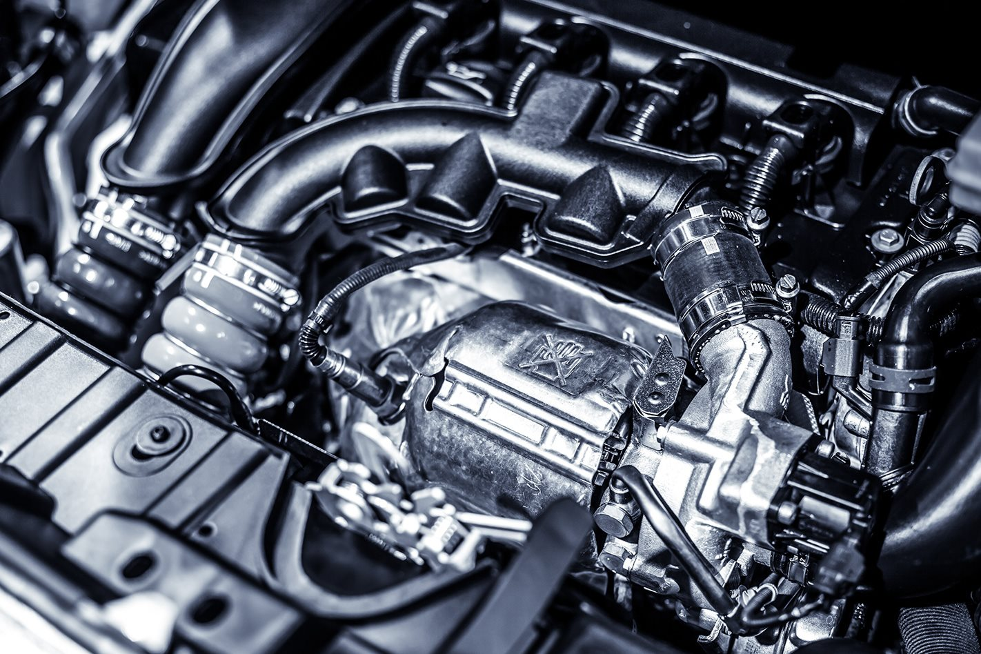 Motor close-up