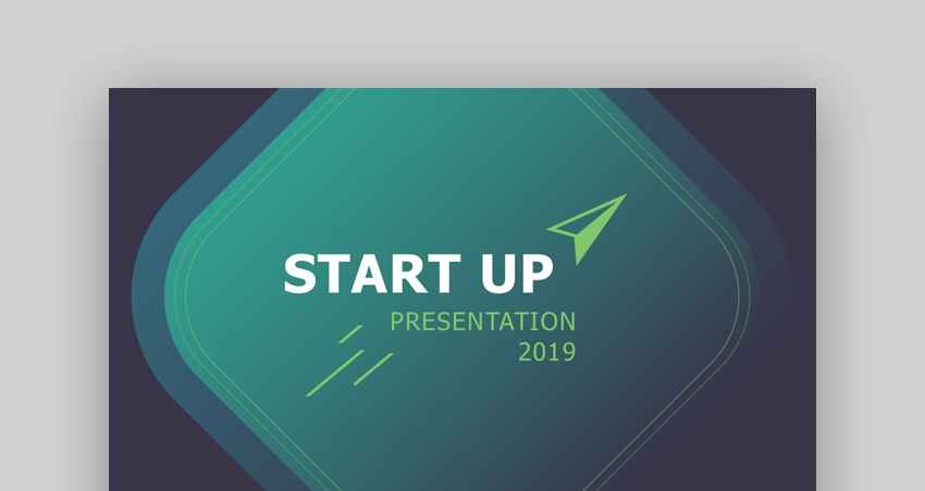 Startup - PowerPoint Presentation Template for Startups