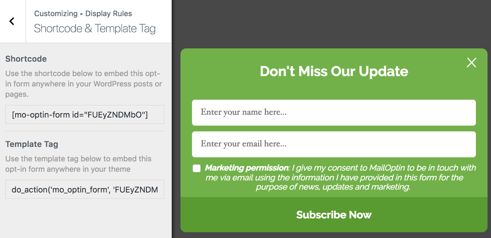 Mailoptin Review Wordpress Email Signup Form Automated Newsletter