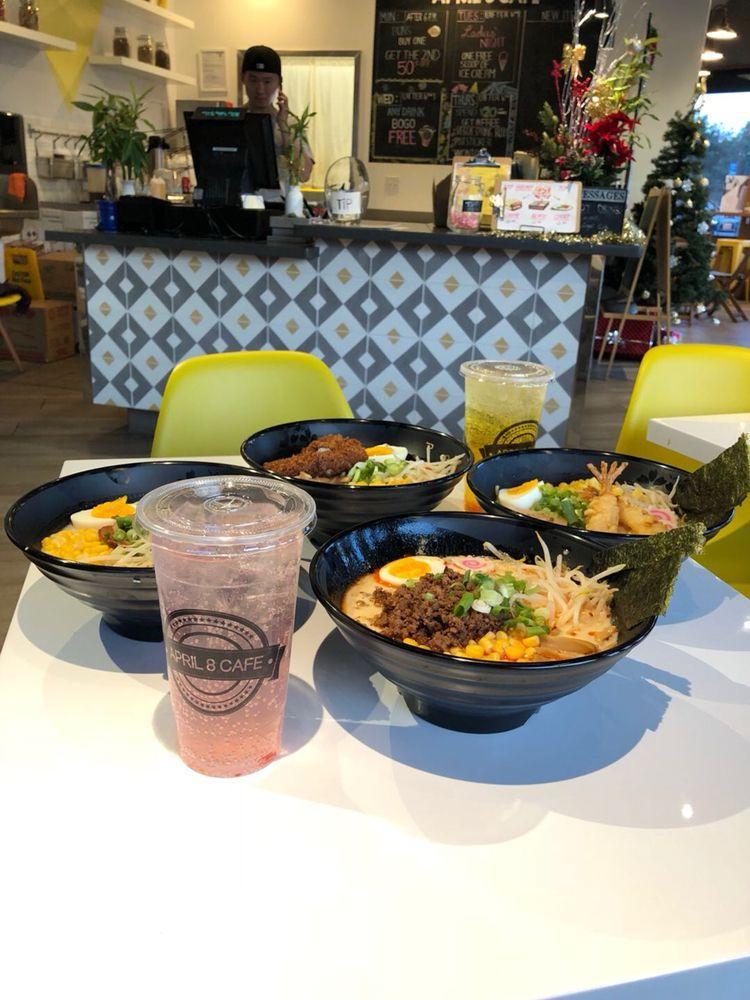 Photo of April 8 Cafe - San Ramon, CA, United States. Winter special--Ramen