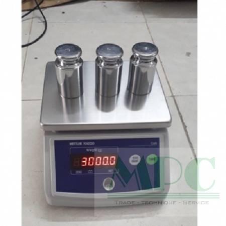 Thử nghiệm thực tế chất lượng và độ chính xác của cân