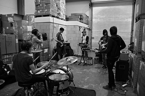 Band Rehearsal Room London