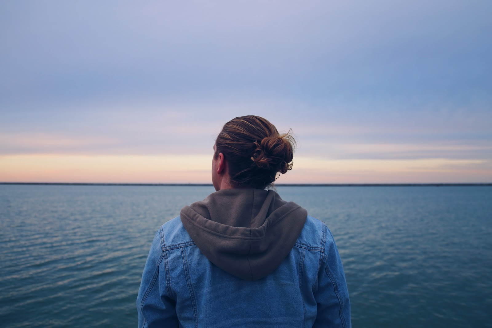 What does an enneagram go to in stress?