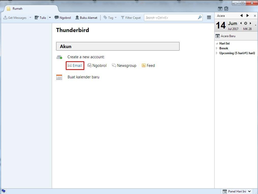 Cara Setup Email Yahoo di Mozilla Thunderbird