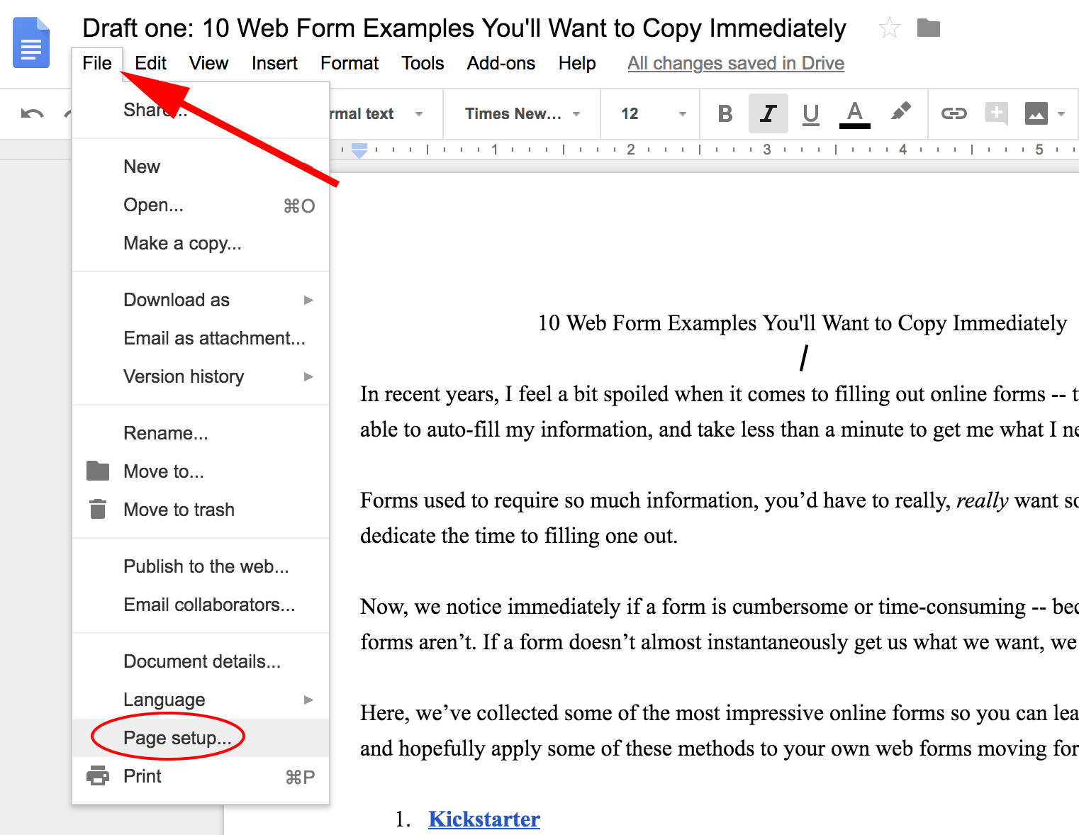 How to Change All Margins in Google Docs [FAQ]