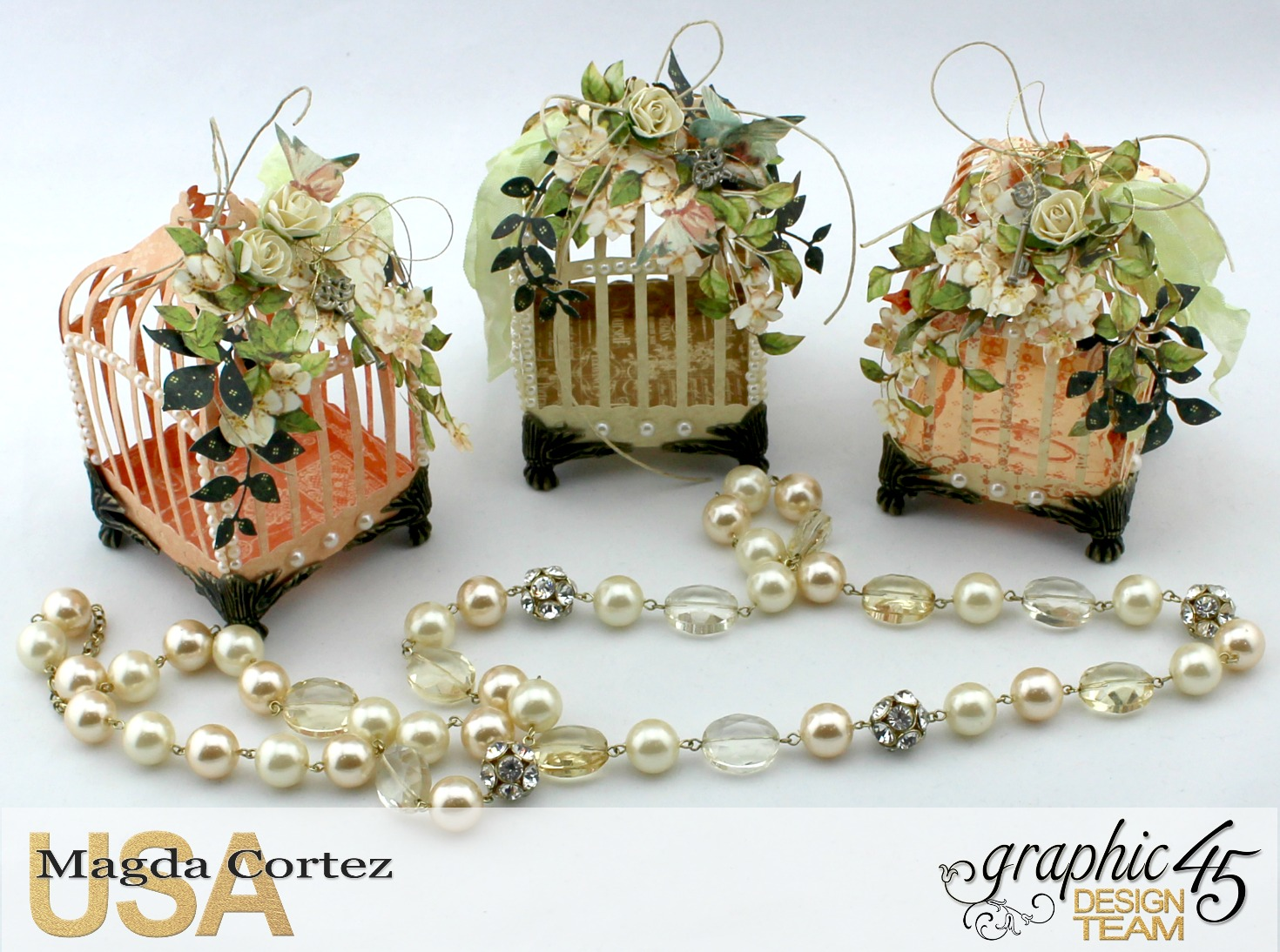 3D Birdcages Simply 45-Wedding Favor- Secret Garden By Magda Cortez, Product By G45, Photo 01 of 06, Project with Tutorial.jpg