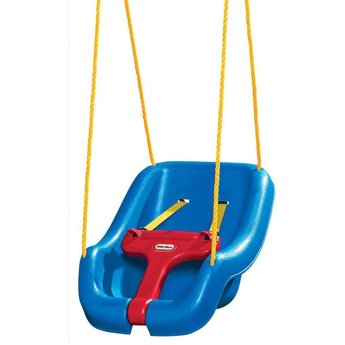 Little Tikes 2-in-1 Snug 'n' Secure Grow with Me Swing