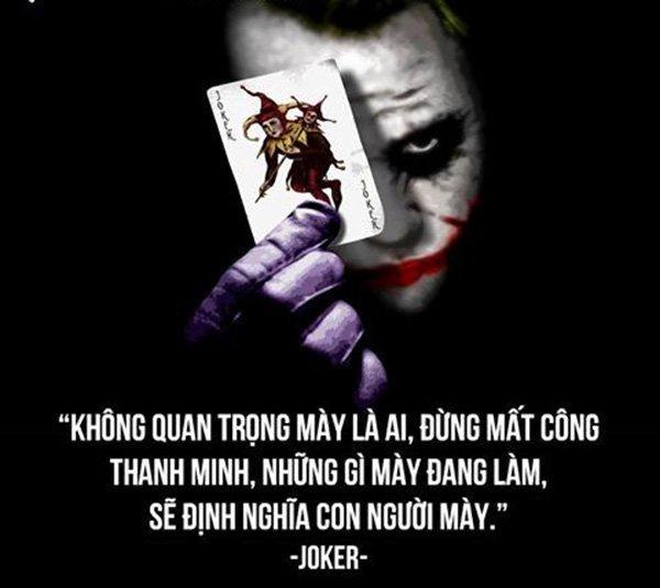Những Câu Nói Hay Của Joker Bất Hủ Nhất Tình Yêu