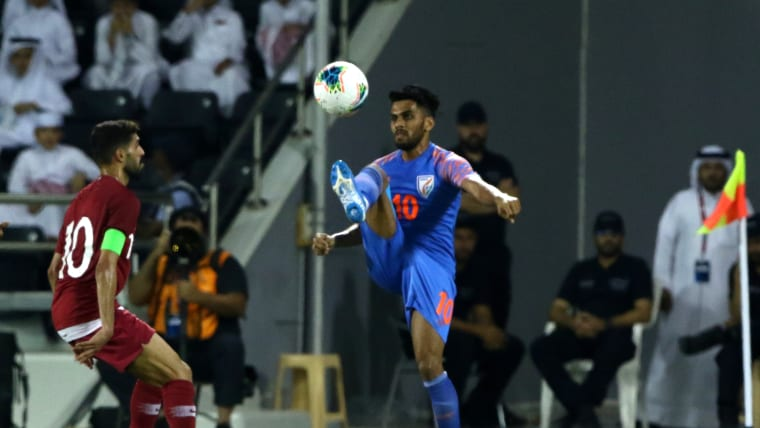 Brandon Fernandes against Afghanistan