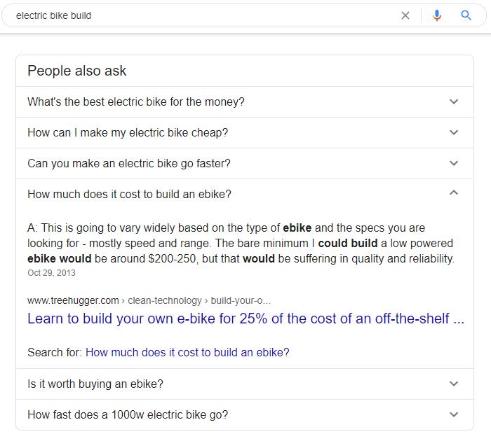 Fréquemment posé des questions de Google.