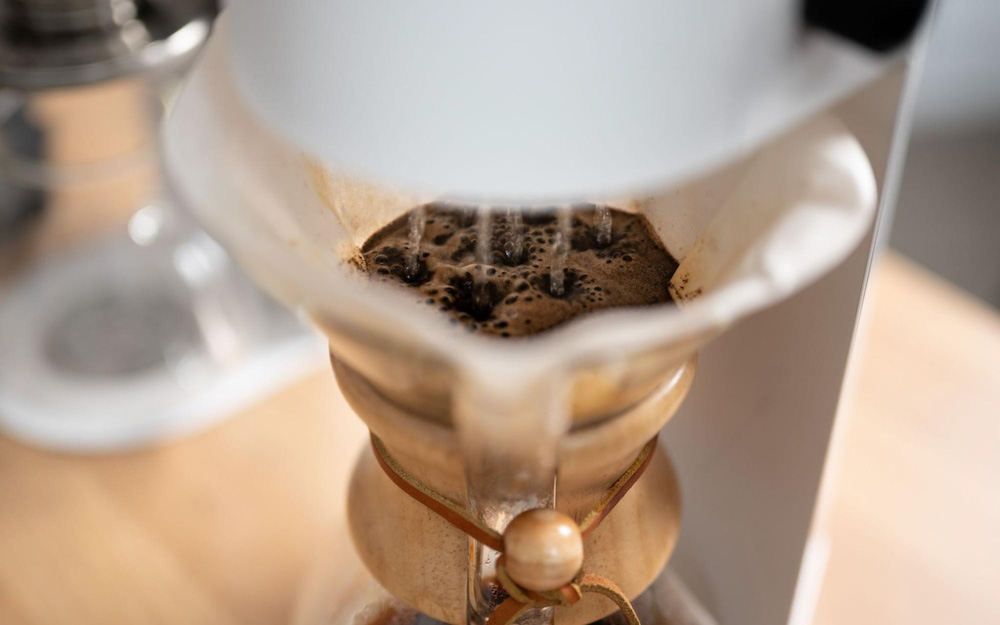 automatic pour over coffee chemex