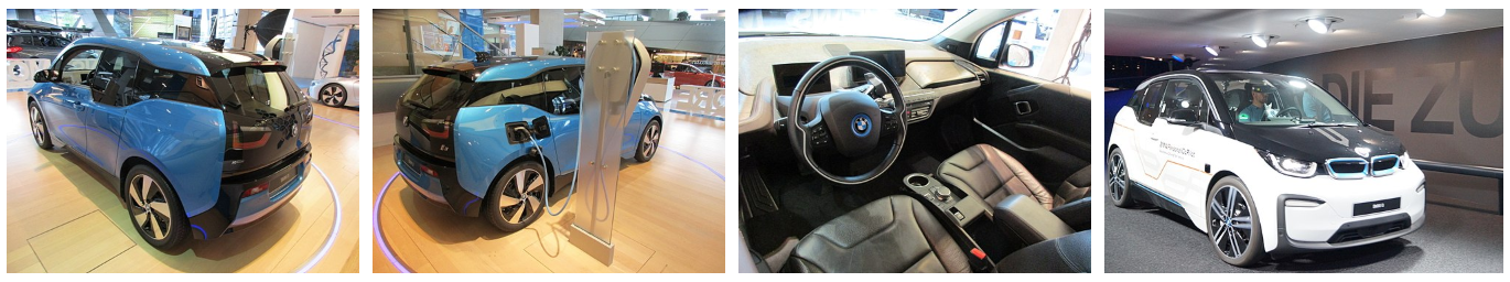 BMW i3 - exposition