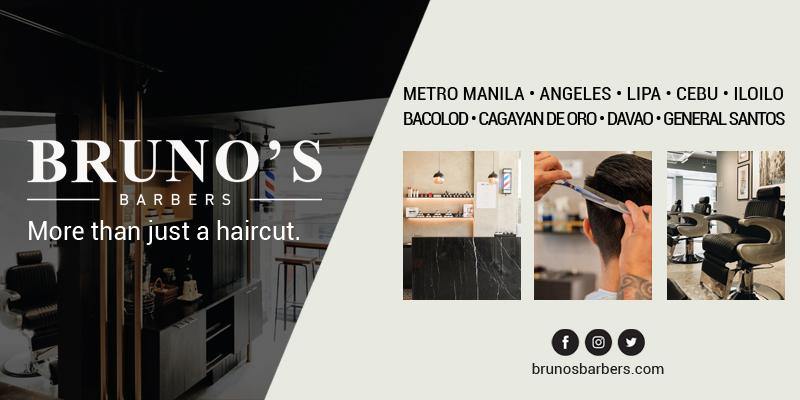 Brunos Barbers Email Banner
