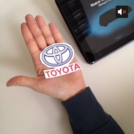 Toyota using Vine