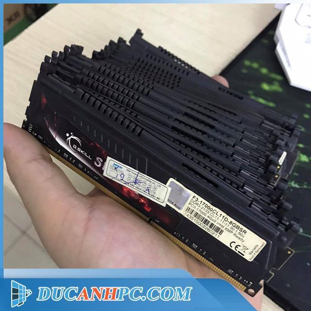 Description: Ram DDR3 4Gb Gskill Sniper bus 2133