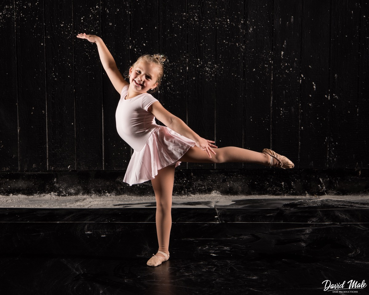 Braylee makes a beautiful little ballerina in Motionwear Style #4354.