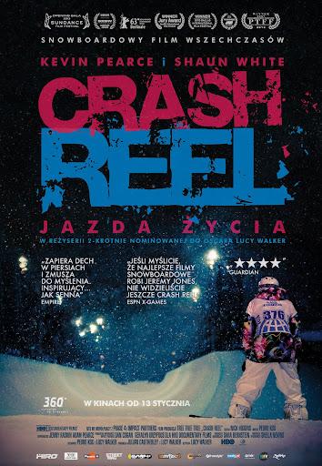 Polski plakat filmu 'Crash Reel'