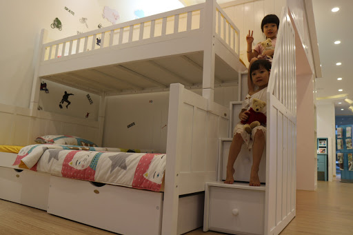các mẫu giường tầng đẹp bằng gỗ