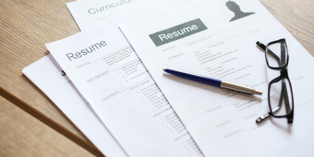 Resume Tips 履歷技巧