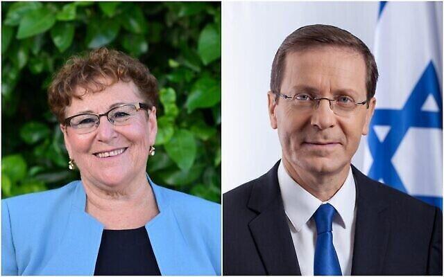 أعضاء الكنيست ينتخبون الرئيس الـ 11 لدولة إسرائيل: أمير سياسي مقابل أم ثكلى  | تايمز أوف إسرائيل