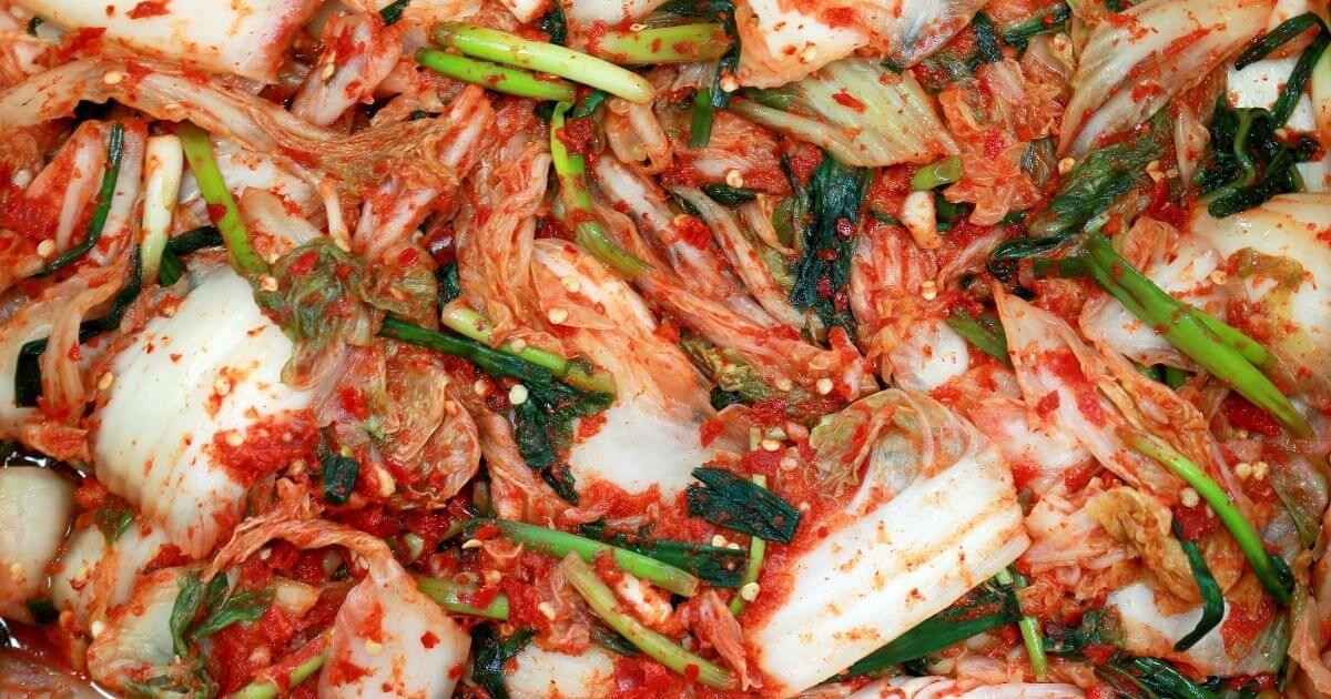 kimchi - North Korean Food