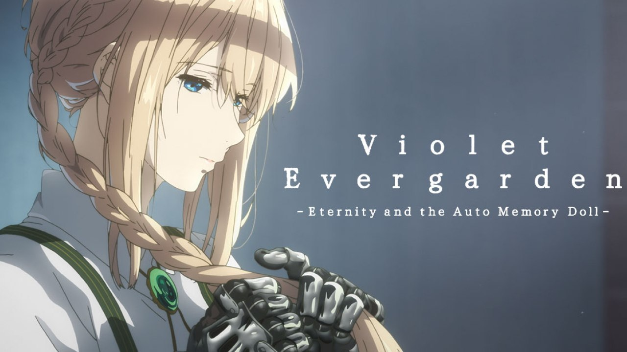 Image result for Violet Evergarden: Eternity and the Auto Memory Doll